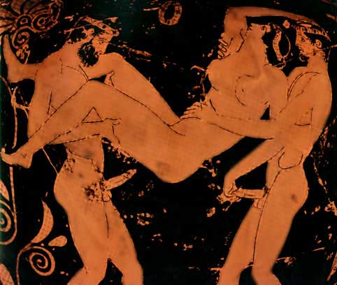 древние рисунки порно